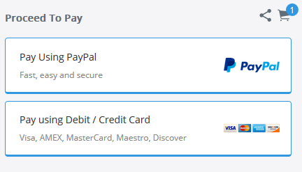 How to Get 2 Payment Checkout Options (Pay with PayPal + Pay with